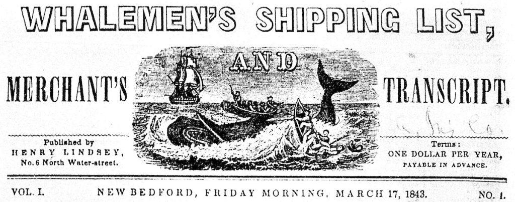 Whalemen's Shipping List